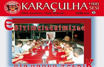 Photo of 'Karaçulha'nın Sesi' 2. Sayı Çıktı